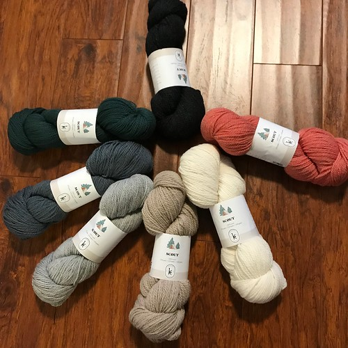 Kelbourne Woolens Scout now available in 7 colours