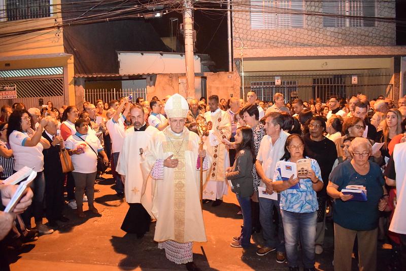 Sagrado e Inauguração da Igreja dedicada a São Paulo Apóstolo - Vila Barros