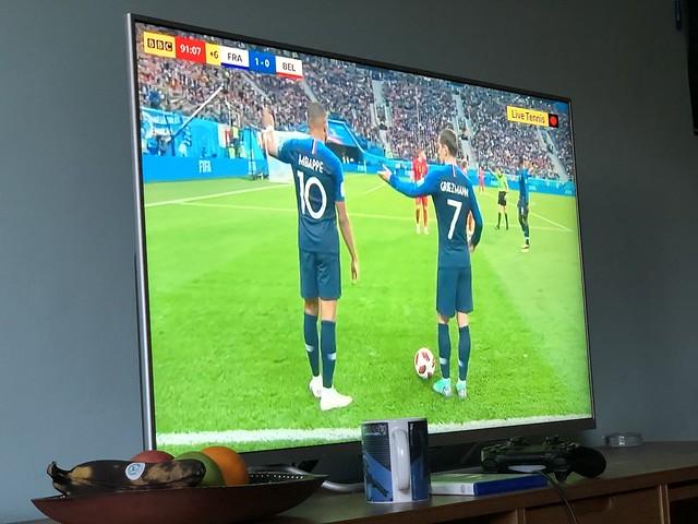 France 1 - 0 Belgium