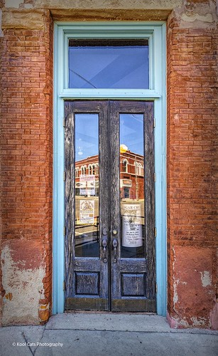 The Reflection in the Door_HDR | by Kool Cats Photography over 11 Million Views