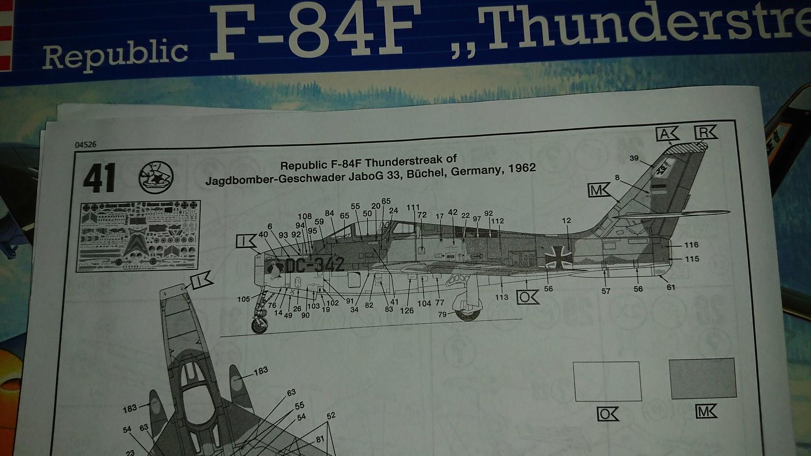 Bundesluftwaffe F-84F JaboG 33 - Revell 1/48 42940933924_b9539fd3ac_h