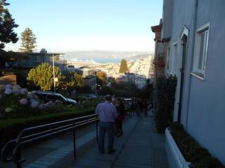 Towards Lombard Street