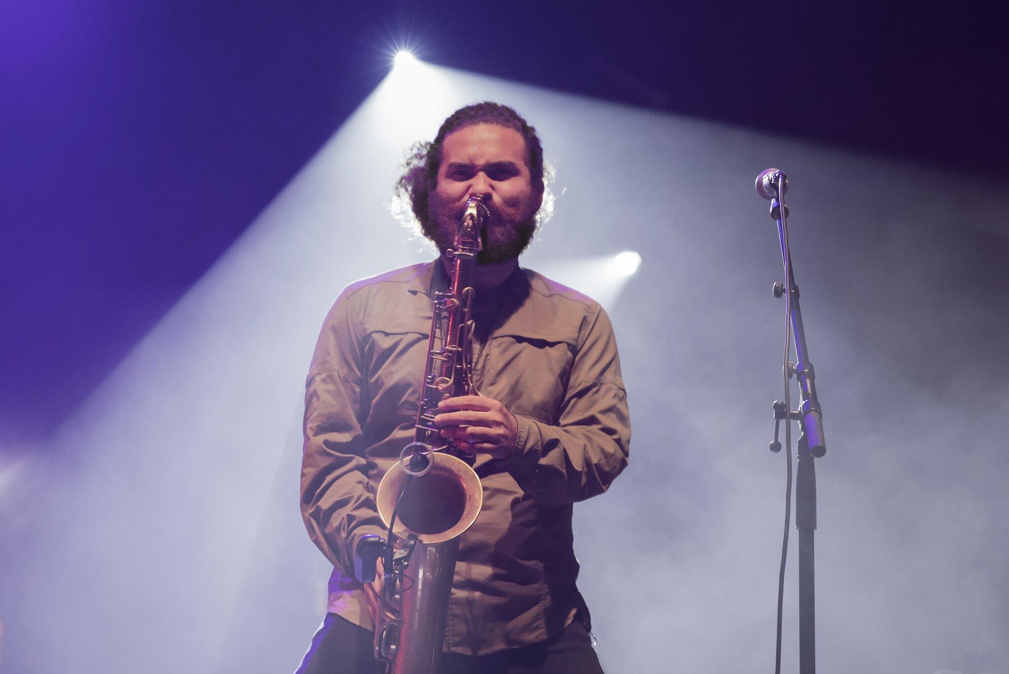 Rebelution saxophonist Eric Hirschhorn