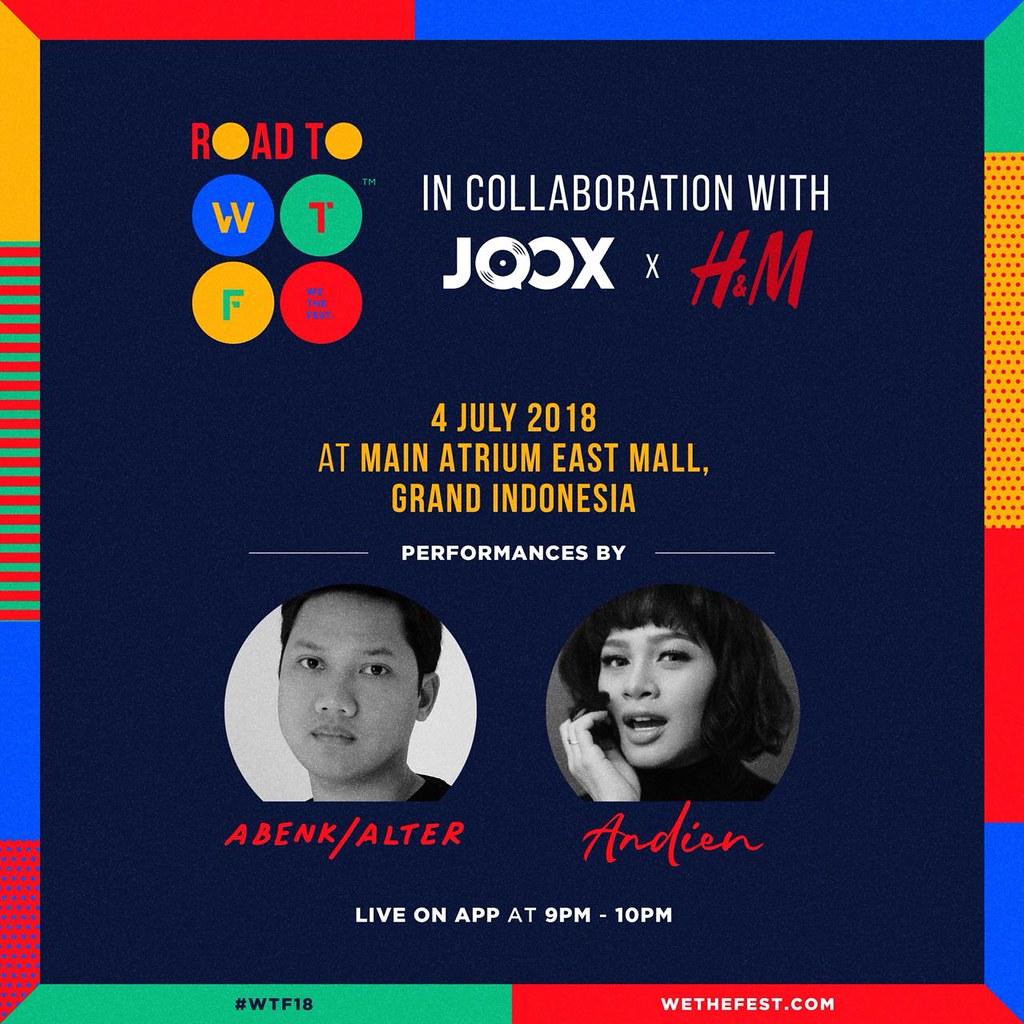 WTF18 - Pre-event - JOOX x H&M - 4 Juli