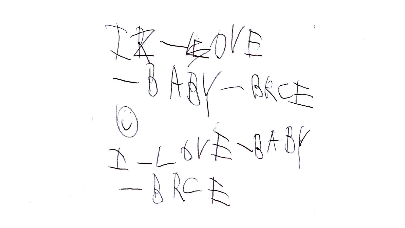 I Love Baby Bryce by Ira