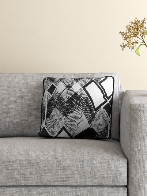 patterned cushion covers for black sofa