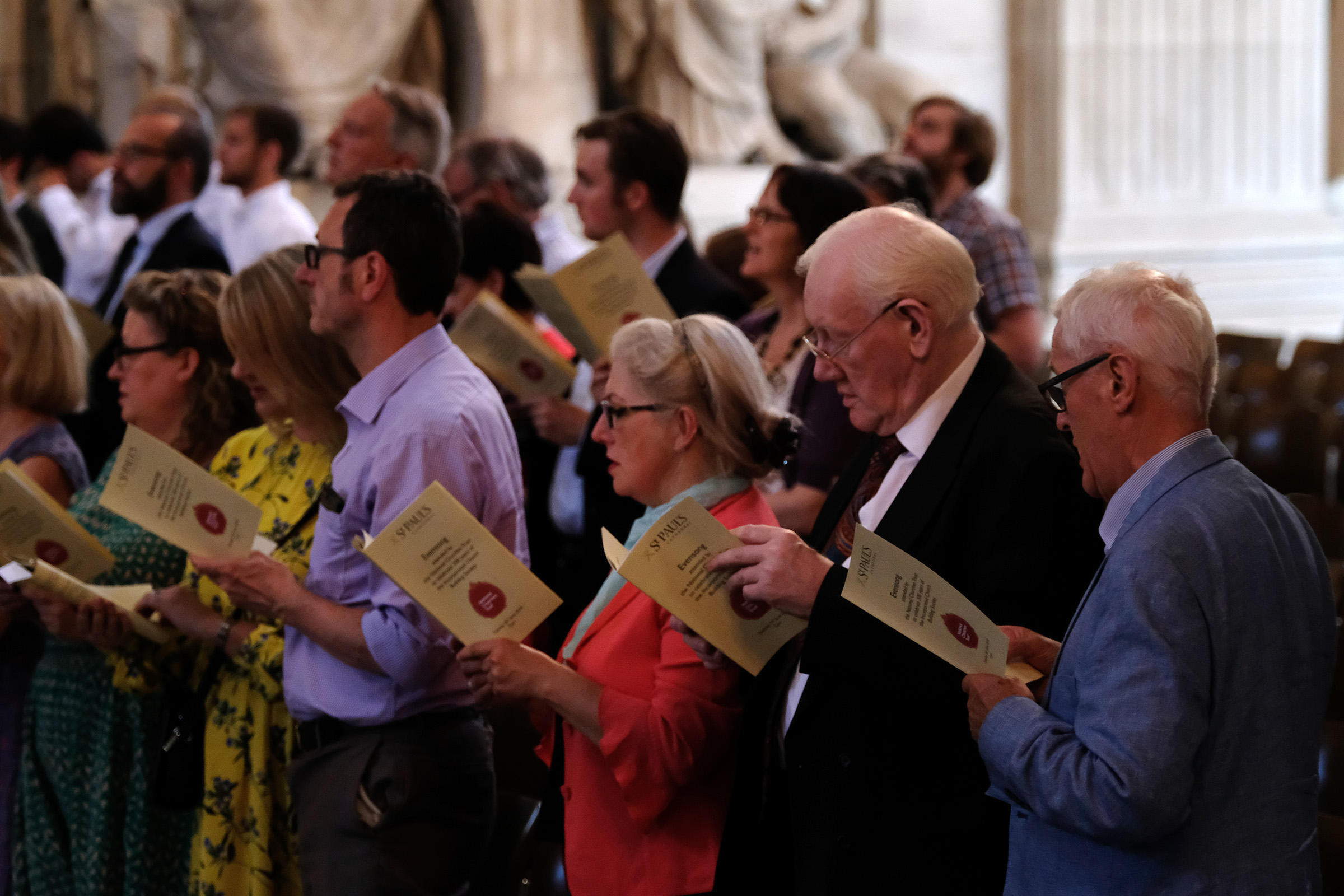 200 years of the ICBS Evensong at St Paul's Cathedral