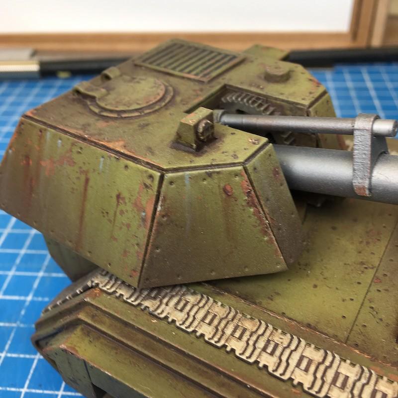 Lasercut basilisk tank green-21