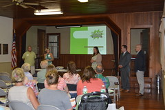 Rep. Ziobron hosted a Lyme Disease Forum with Lyme Connection at the East Haddam Grange