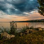Soir d'été au bord du lac