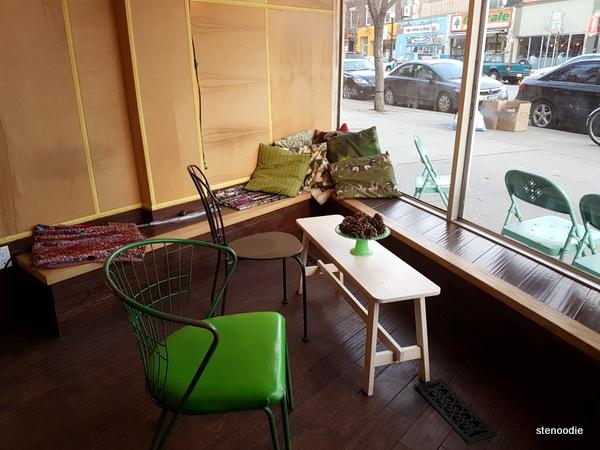 Empire Espresso seating