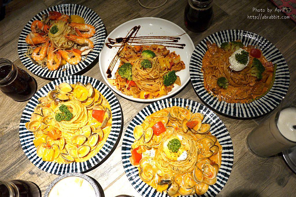 台中平價義大利麵|JAI宅-網美餐廳,好拍又好吃,建議先訂位