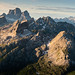 Monte Pelmo Panorama by Greg Whitton Photography