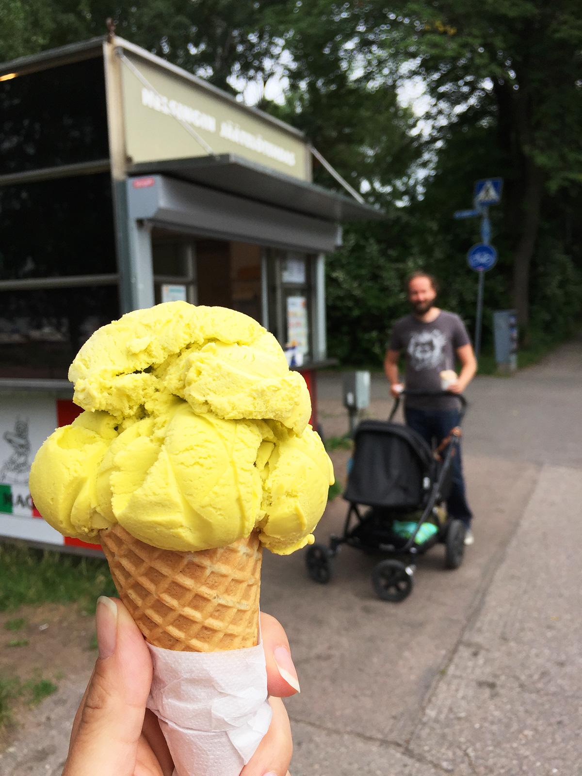 Kesä Helsingissä Helsingin jaatelotehdas
