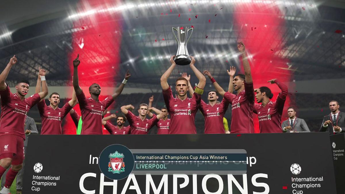 PES 2019 Uluslararası Şampiyonlar Kupası