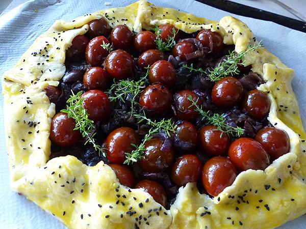 croustade tomate