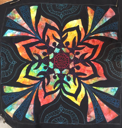 Magnificent Mandala from a Mel beach class