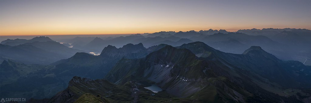 Dawn panorama - Brienzer Rothorn