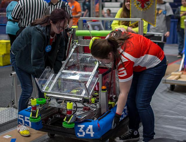 SVSU Robotics Event