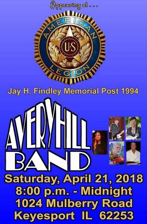 Avery Hill 4-21-18