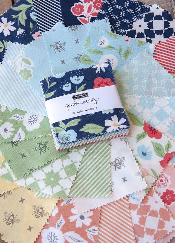 Garden Variety fabric
