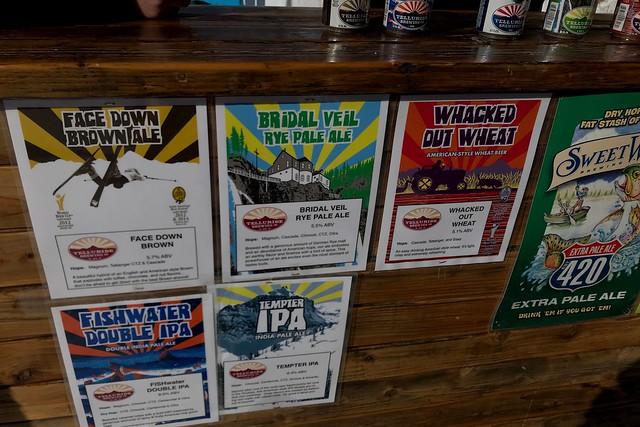 日, 2018-01-14 15:50 - Telluride Brewing Companyのテイスティングイベント