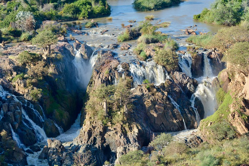 Cataratas Epupa, Namibia
