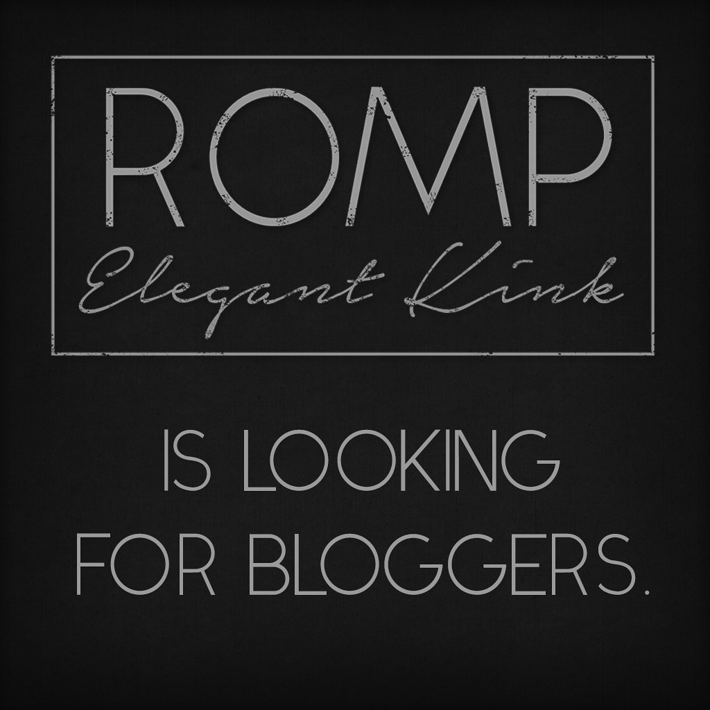 ROMP Bloggers Wanted