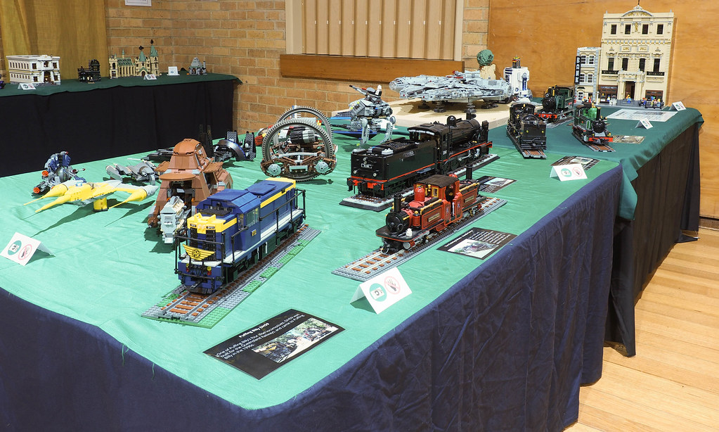 Brick Hills Lego Display 2018   some of my large scale train…   Flickr