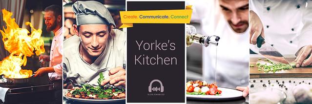 Inside Yorke's kitchen
