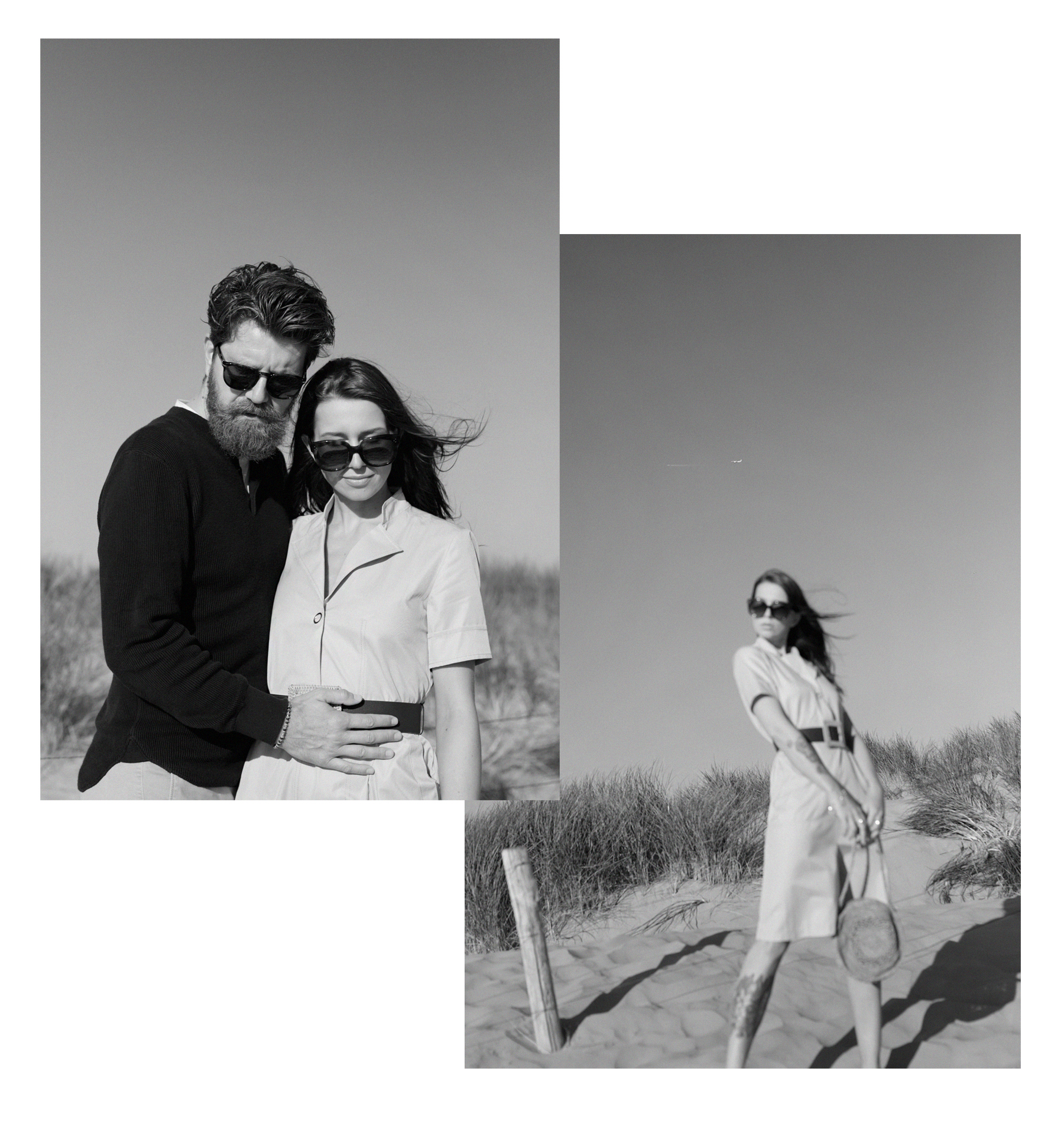 beach holland bloemendaal safari city dress outfit couple coupleblog couplegoals couplestyle romance love vintage style inspo inspiration black and white photography dusseldorf catsanddogsblog ricarda schernus modeblogger styleblog max bechmann fotograf 2