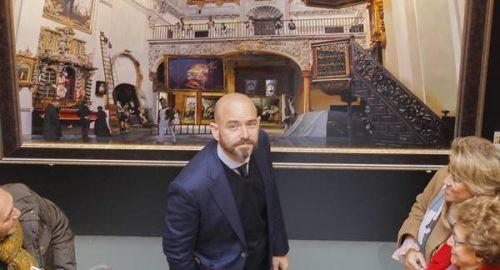 Fernando Vaquero autor del cartel de la Romería de Valme
