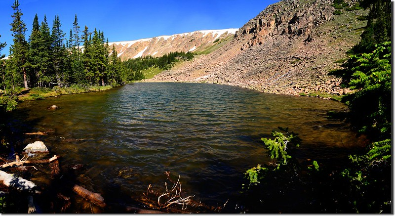 The unnamed lake #1 at the upper reaches of Current Creek (10)