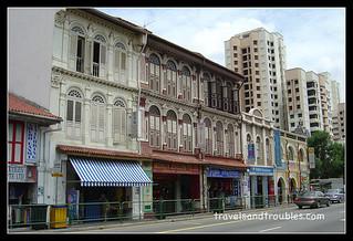 Chinese Shophouses - modern en ouderwets