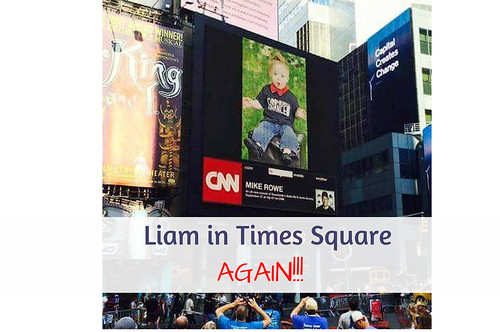 Liam in Times Square...AGAIN!!! NDSS Times Square Video #Downsyndrome #NDSS #Downsyndromeawareness