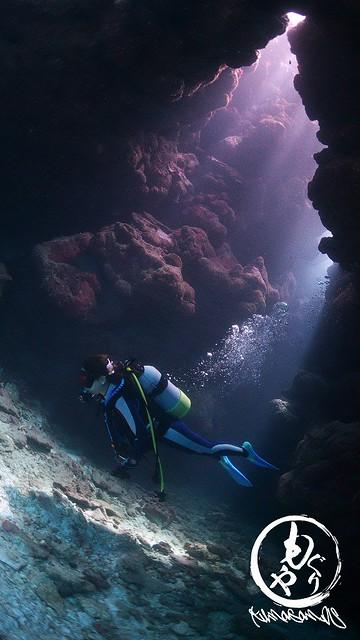 洞窟の光をたっぷり浴びてきました♪