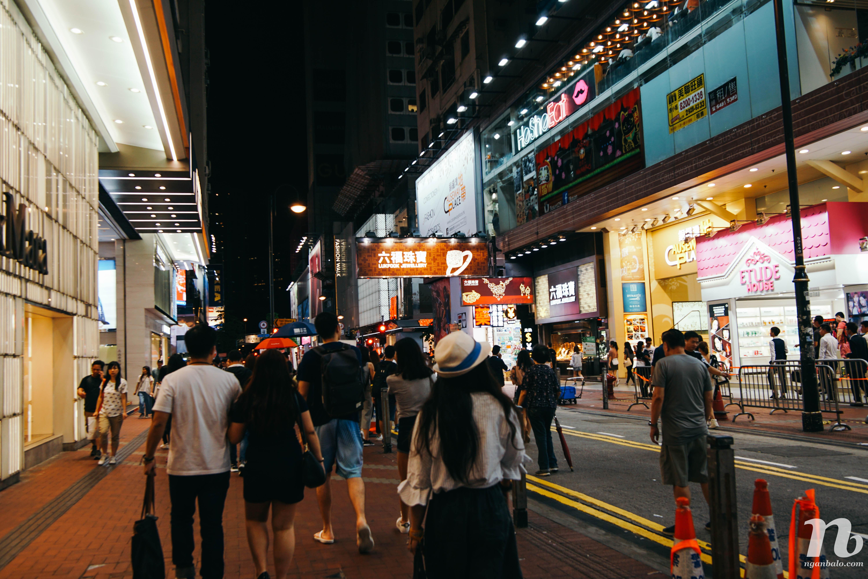 4 ngày du lịch Hong Kong (4) Nhà xanh Wanchai và Causeway Bay