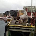 Am Hafen in Tromsø
