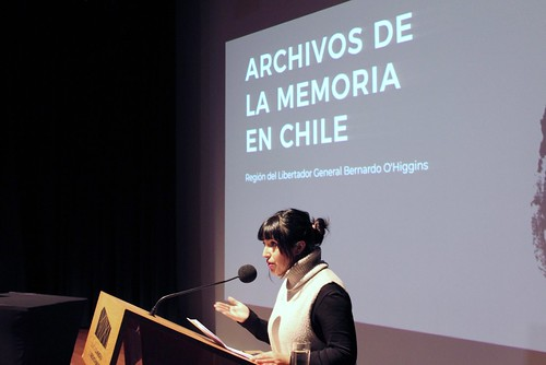 Lanzamiento libro Archivos de la Memoria en Chile Región de O´Higgins