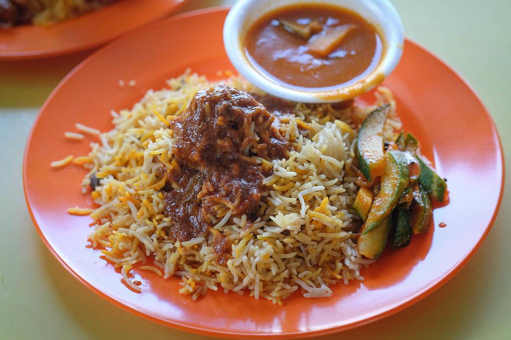 Hamidah B mutton briyani