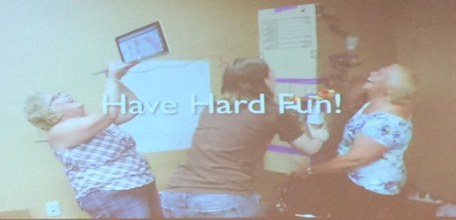 #CMK18 Hard fun