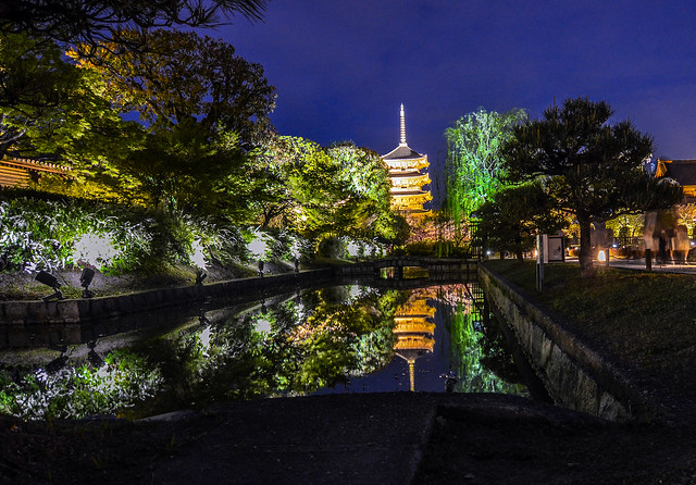 Toji water reflection wide