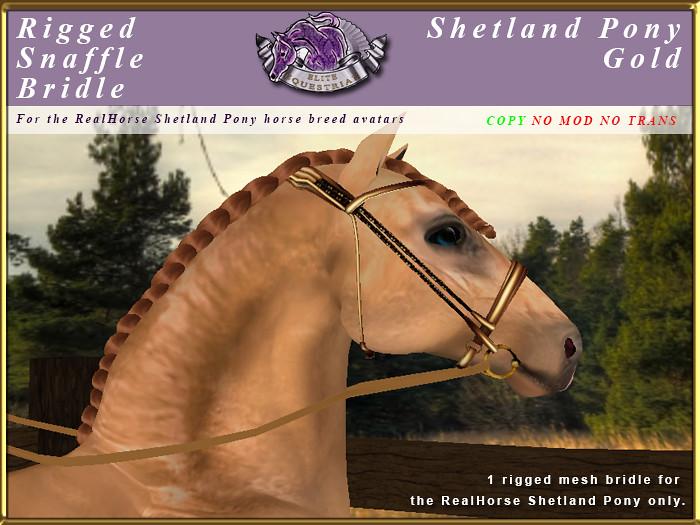 e-rh-Shetland-SnaffleBridle-gold - TeleportHub.com Live!