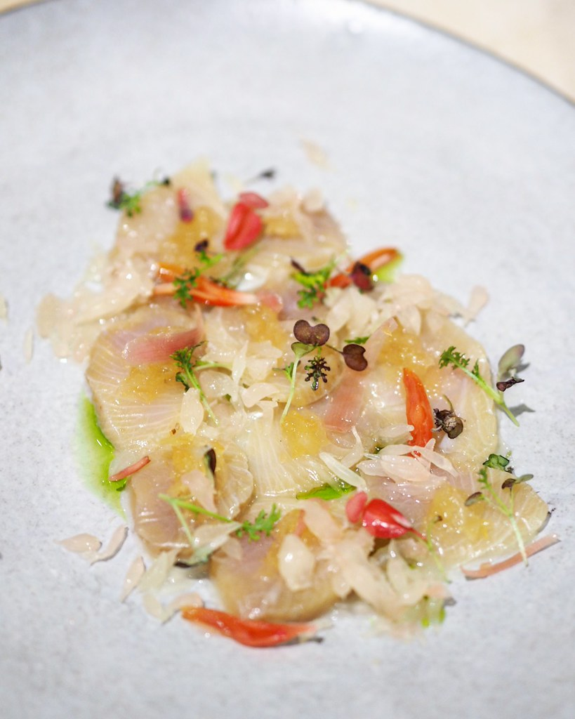 Citrus Cured Hamachi