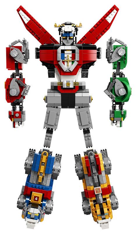 LEGO Ideas 21311 Voltron 3