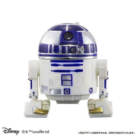 嶄新Q-droid系列 《星際大戰》「C-3PO&R2-D2 電影公開記念 電鍍版本」!Qドロイド スター・ウォーズ C-3PO&R2-D2 映画公開記念 メッキカラーver.