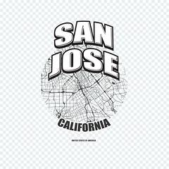 San Jose, California, logo artwork