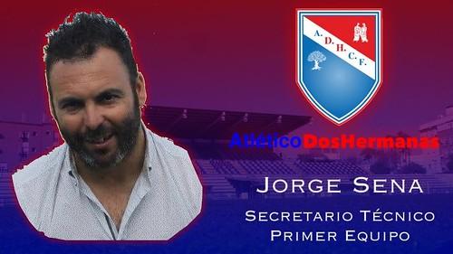 Jorge Sena nuevo secretario técnico del At. Dos Hermanas