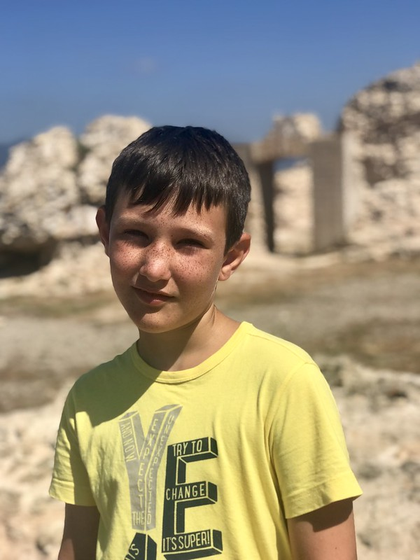 Ancient Roman Kid