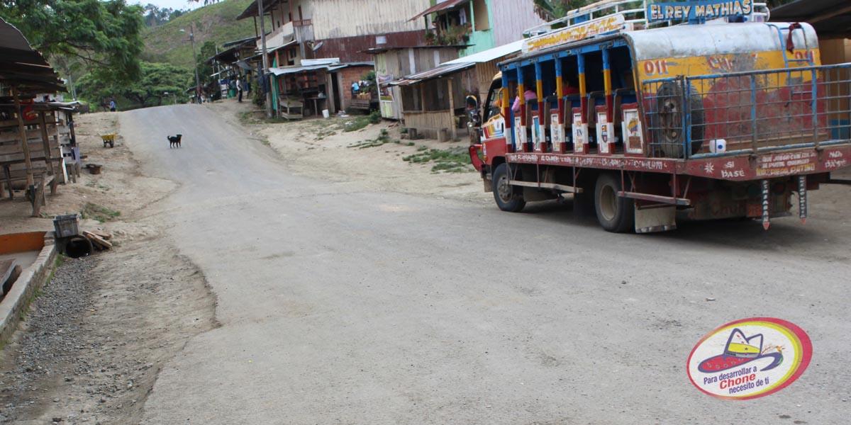 GADM Chone coordina acciones en Chibunga